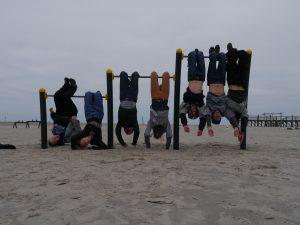 Rumhängen am Strand